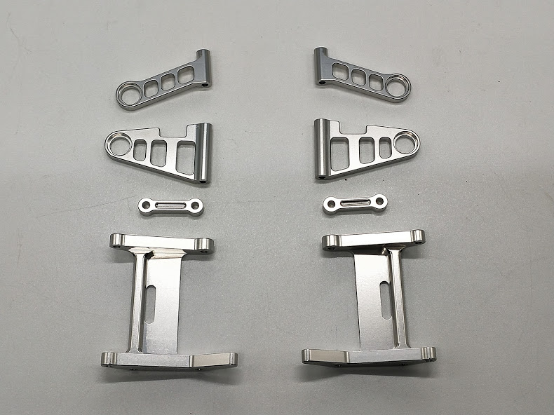 TAMIYA PORSCHE 959 CELICA GR.B aluminum front and rear control arms kit.